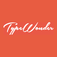 Typewonder – Offering Wonderful Fonts for your web sweetheart