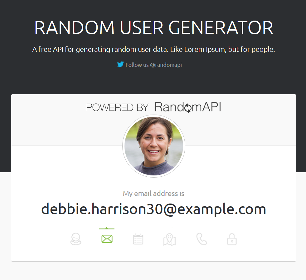 Random User Generator - screenshot 1