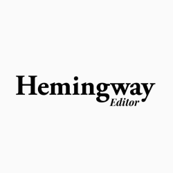 Be one step closer to being a better Writer, with Hemingway App