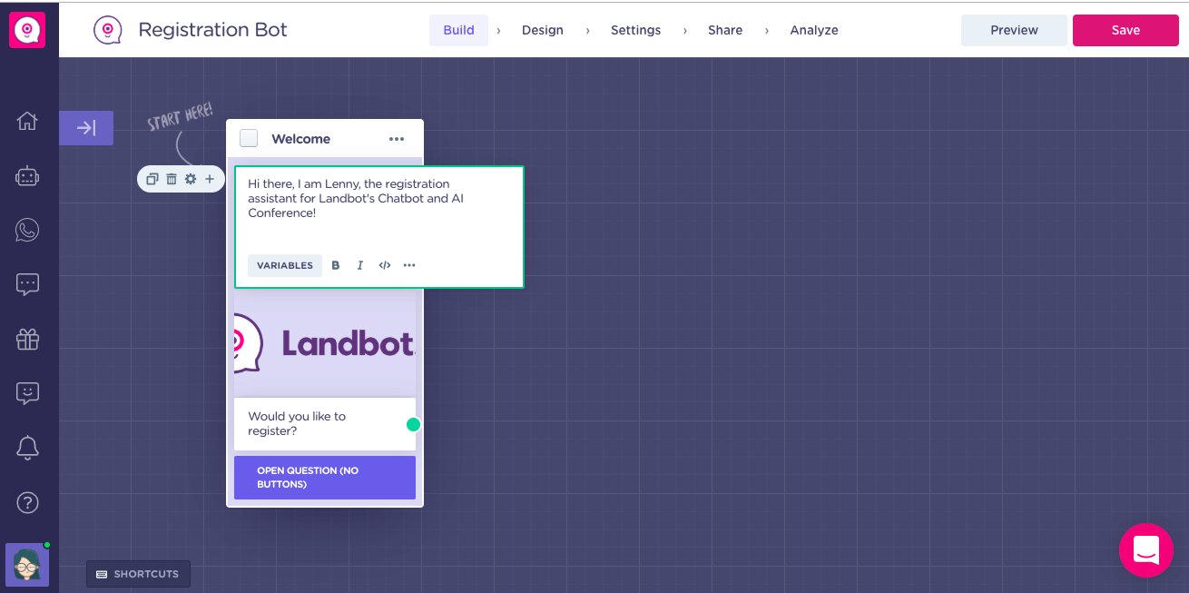 Landbot - screenshot 2