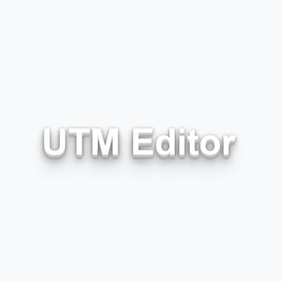 UTM Editor