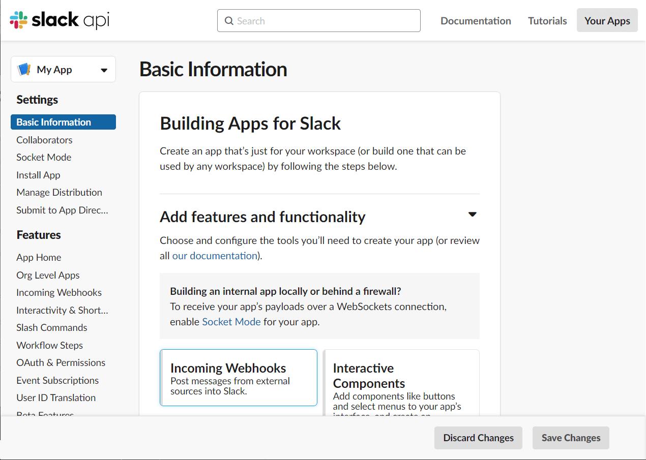Slack - captura de pantalla 2